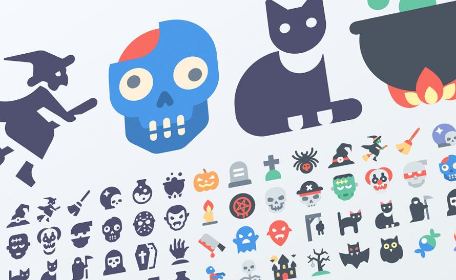 Free Materia Halloween icons