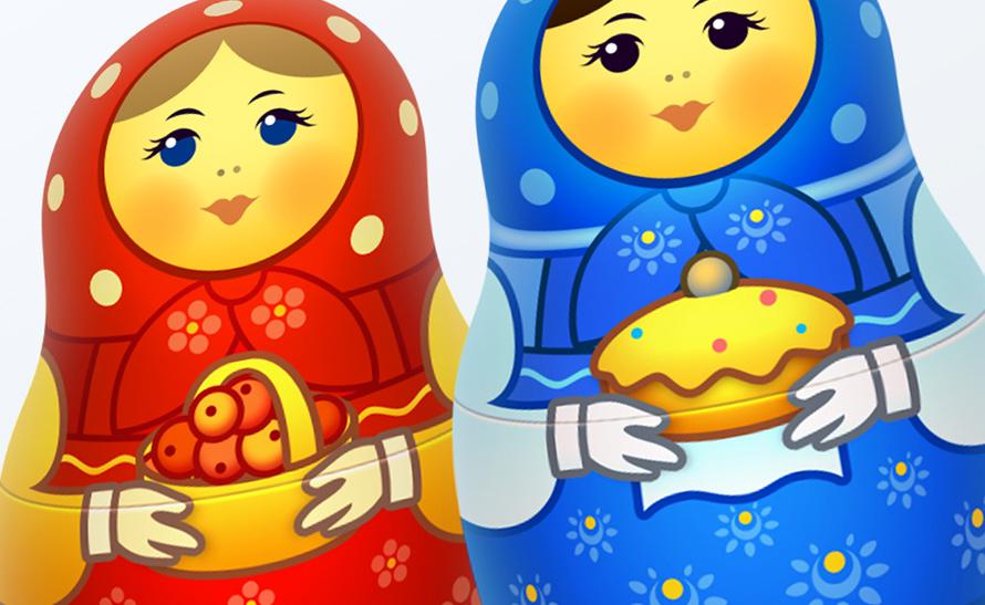 Free Matreshka icons