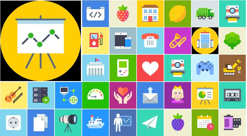 Jetflat icons