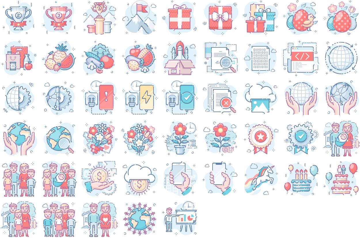 Scenarium Silver icons vol.9