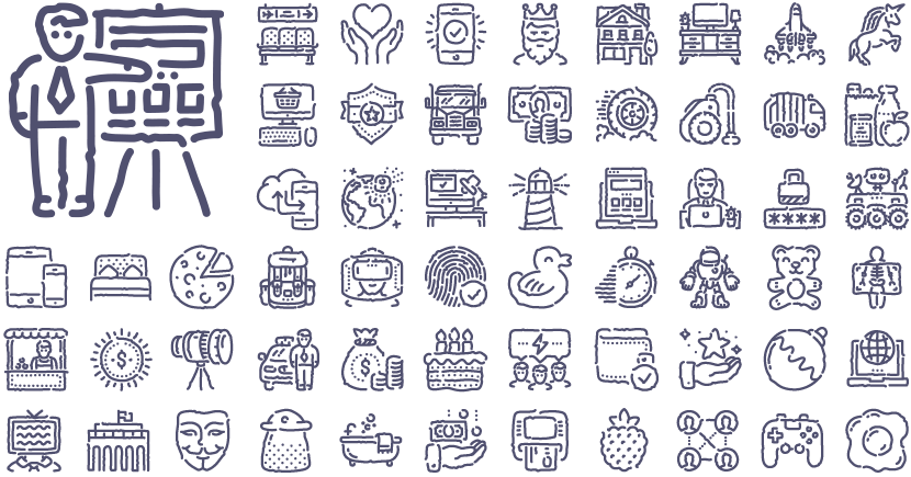 Unisketch icons