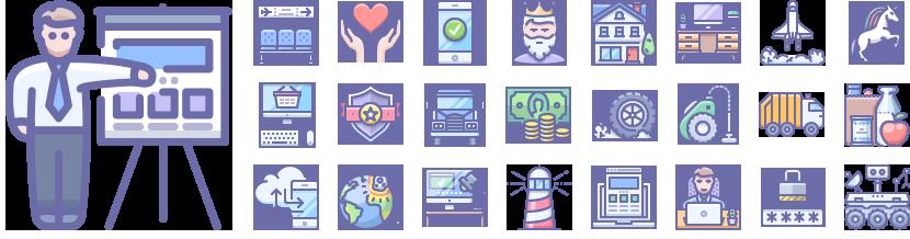 Unigrid Phantom icons