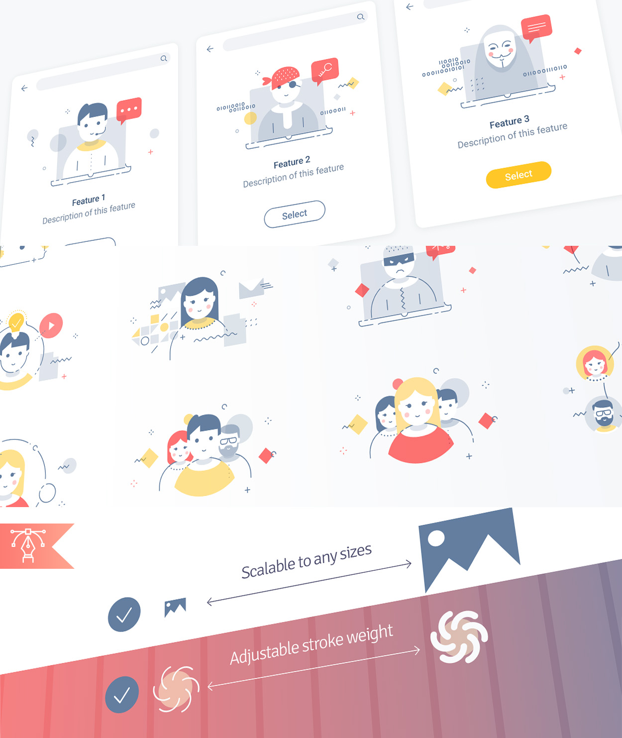 Zephyr illustrations usage examples