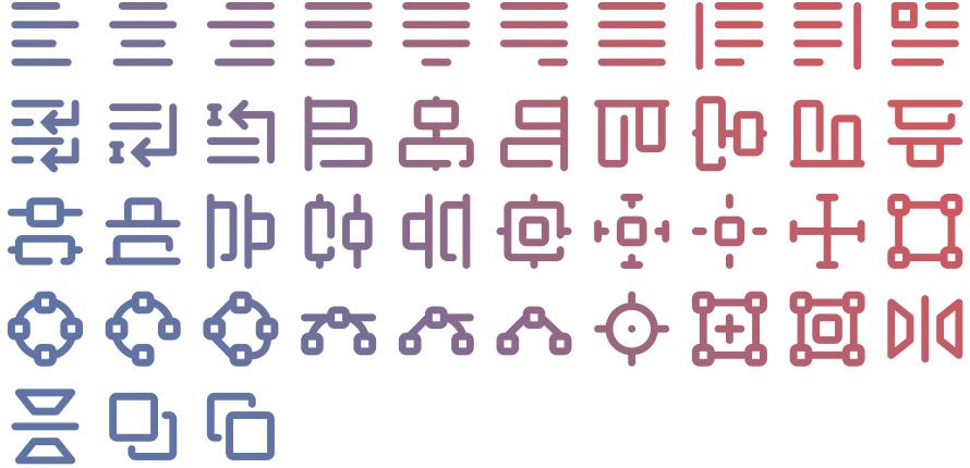 Tidee Editor icons