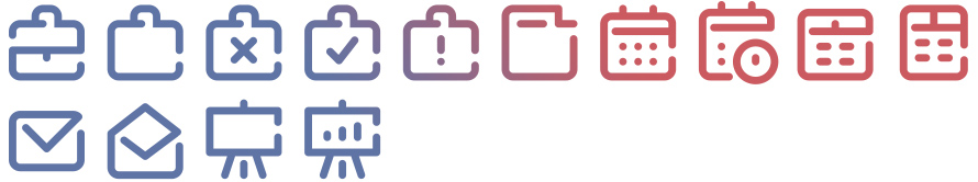 Tidee Office icons