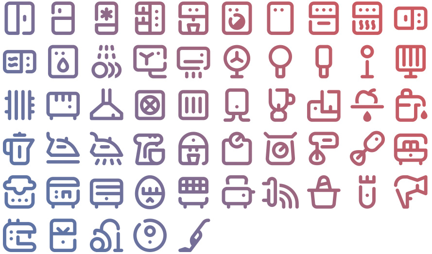 Tidee Appliances icons